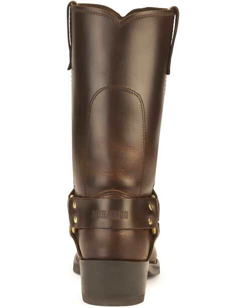 Durango Men's Harness Motorcycle Boots, Brown, hi-res