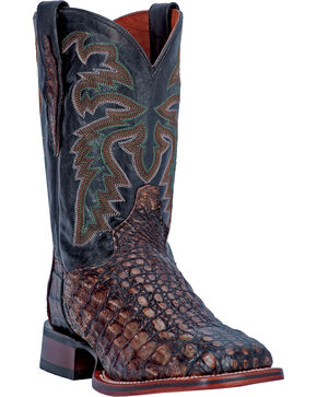 Dan Post Men's Cowboy Certified Everglades Boots, Copper, hi-res