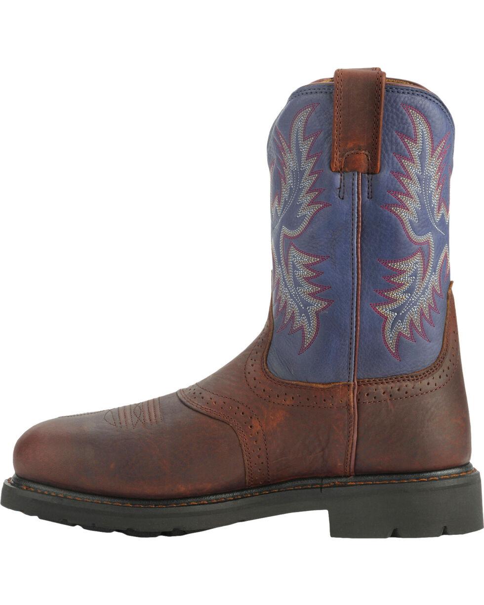 Ariat Men's Sierra Saddle Steel Toe Work Boots, , hi-res