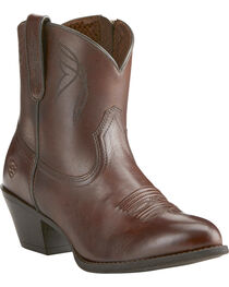 Ariat Women's Dark Brown Darlin Boots - Medium Toe, , hi-res