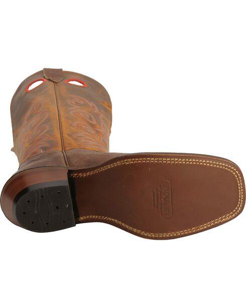 "Boulet Men's 16"" Buckaroo Wide Square Toe Boots, Chestnut, hi-res"