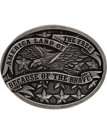 Cody James Men's America Belt Buckle, , hi-res