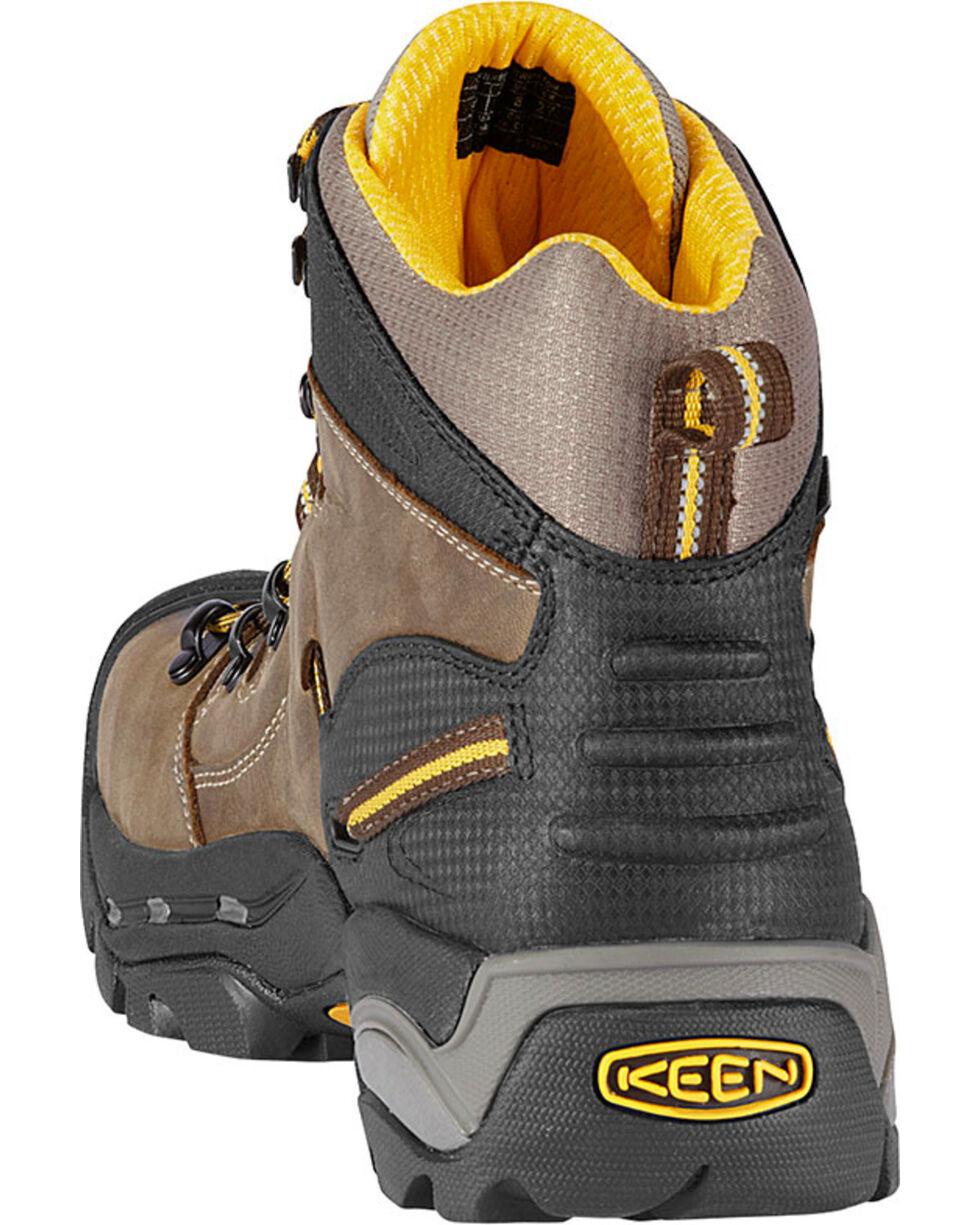 Keen Men's Electrical Hazard Protection Steel Toe Work Boot, Brown, hi-res