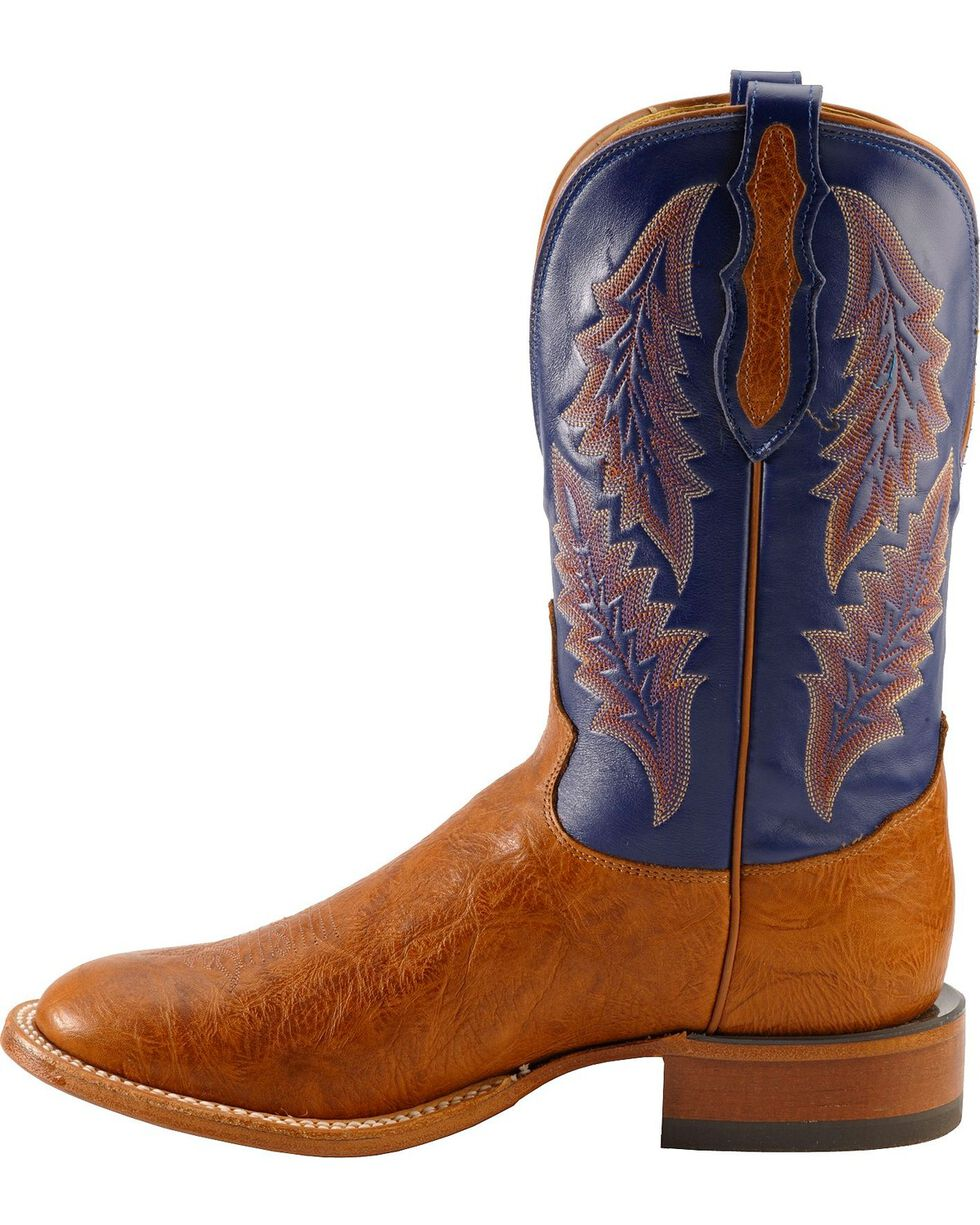Tony Lama Men's Round Toe Shrunken Shoulder Square Toe Western Boots, Aztec, hi-res