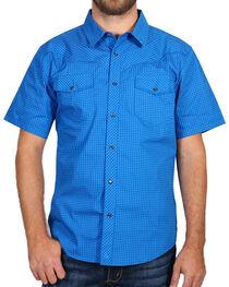 Cody James® Men's Printed Western Short Sleeve Shirt, , hi-res