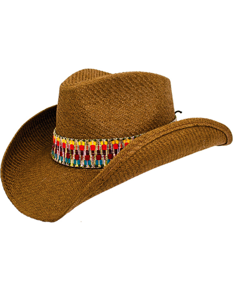 Peter Grimm Women's Tan Viri Cowgirl Hat , Tan, hi-res