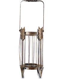 Gift Craft Rustic Arrow Candle Holder, , hi-res
