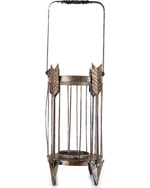 Gift Craft Rustic Arrow Candle Holder, No Color, hi-res