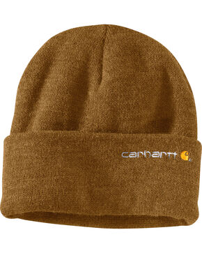 Carhartt Wetzel Watch Hat, Light Brown, hi-res
