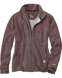 Carhartt Women's Force Extremes Zip Front Sweatshirt , , hi-res