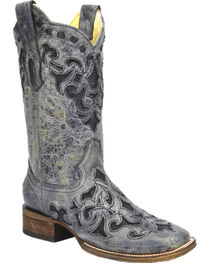 Corral Women's Stingray Inlay Western Boots, , hi-res