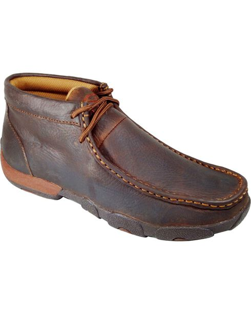 Twisted X Women's Casual Driving Mocs, Copper, hi-res