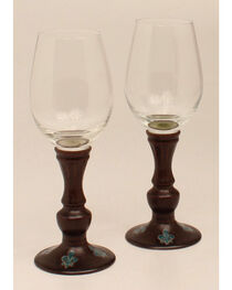 Western Moments Monarch Wine Glasses, , hi-res