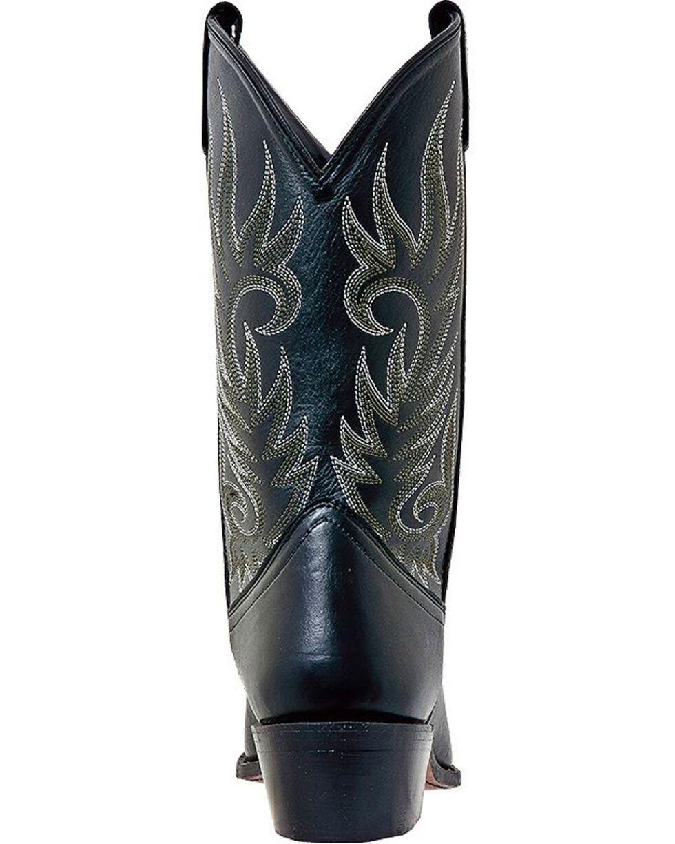 Laredo Men's Willow Creek Snip Toe Western Boots, Black, hi-res