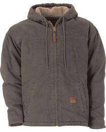 Berne Washed Hooded Work Coat - 3XL and 4XL, , hi-res