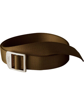 Mountain Khakis Brown Webbing Belt , Brown, hi-res