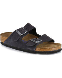 Birkenstock Women's Arizona Soft Suede Sandals, , hi-res