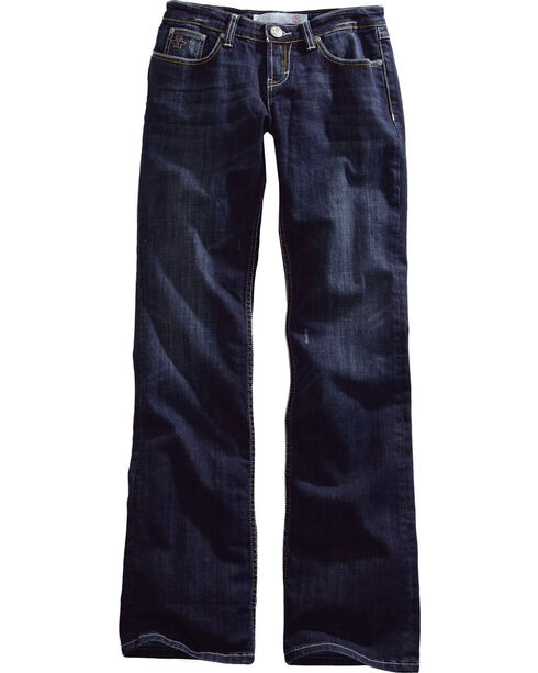 Tin Haul Rosie Deco Stitch Jeans - Boot Cut , Denim, hi-res
