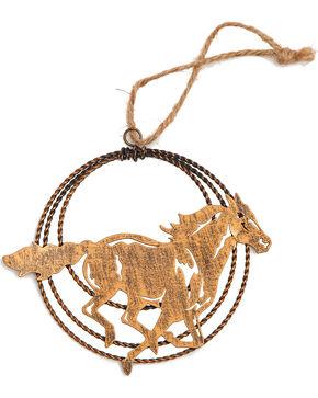 BB Ranch Laser Cut Galloping Horse Ornament, No Color, hi-res
