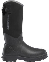 "LaCrosse Women's Black 14"" Alpha Range Utility Boots - Round Toe, , hi-res"