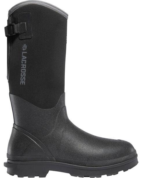 "LaCrosse Women's Black 14"" Alpha Range Utility Boots - Round Toe, Black, hi-res"