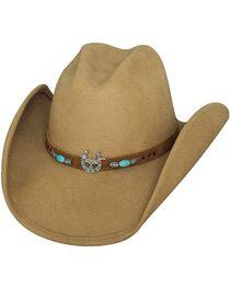 Bullhide Women's Winning It All Wool Hat, , hi-res
