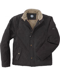 Polar King Women's Black Sherpa-Lined Twill Jacket , , hi-res