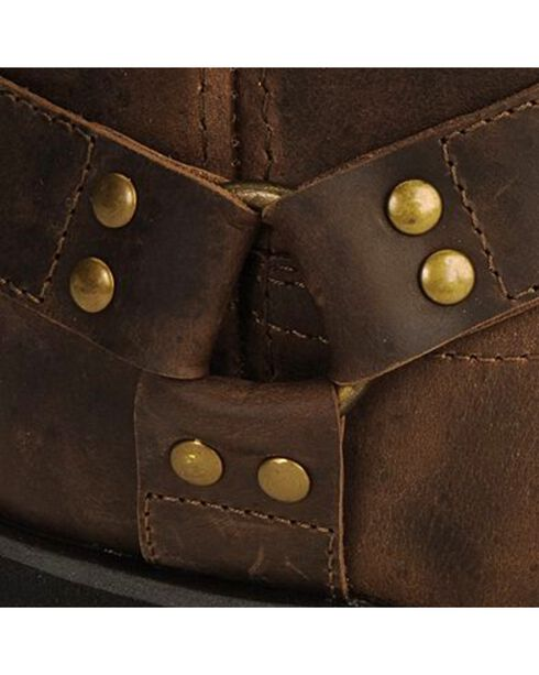 Smoky Mountain Children's Harness Boots, Brown, hi-res