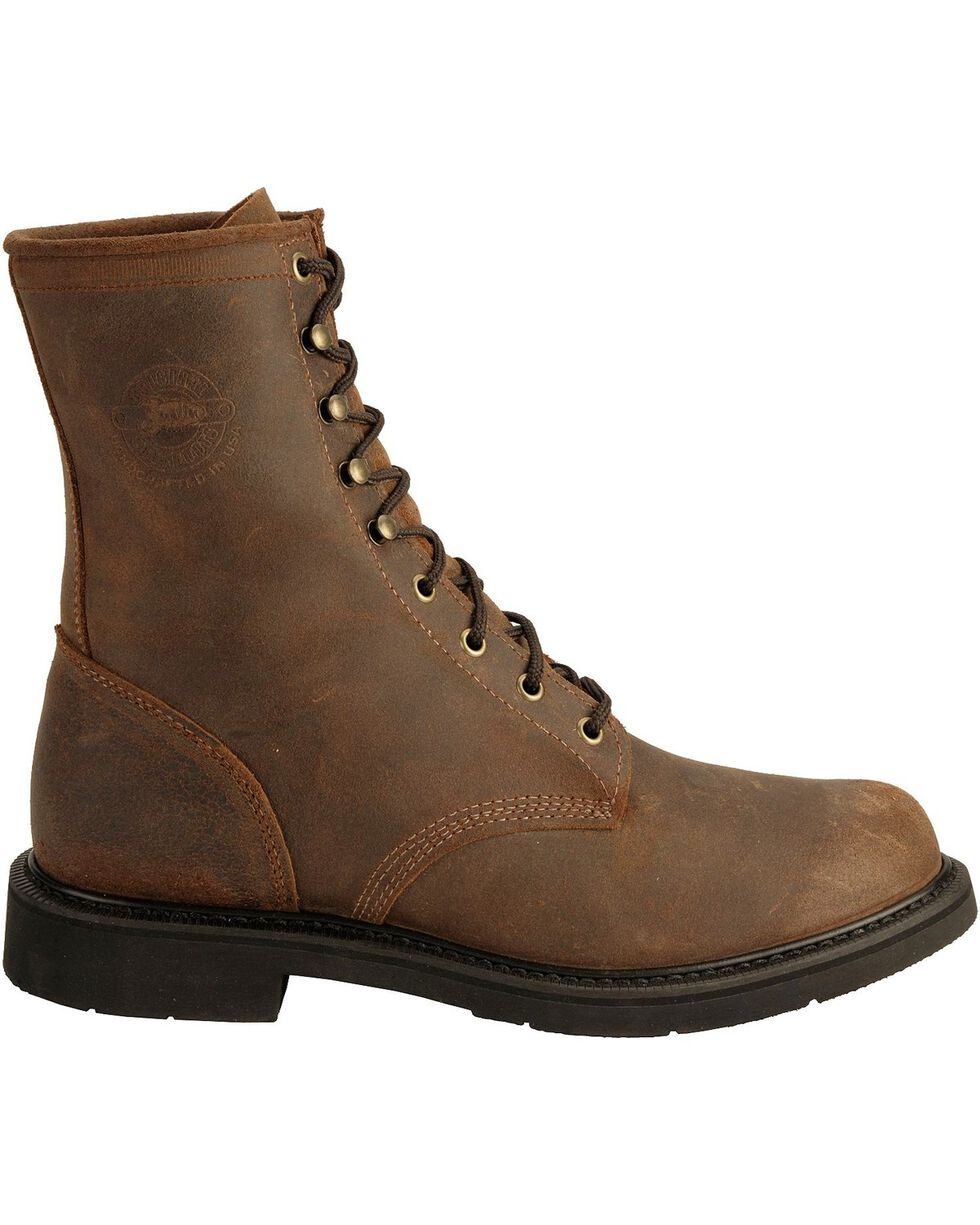 Justin Men's Lace-Up Original Work Boots, , hi-res