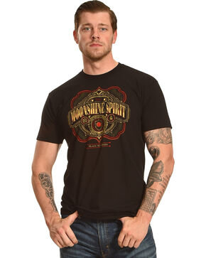 Moonshine Spirit® Black Pot Mash Graphic T-Shirt, Black, hi-res