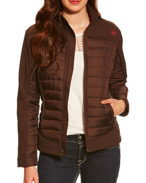 Ariat Women's Blast Jacket, Brown, hi-res