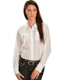 Ariat Women's Alice Lurex Snap Western Shirt, , hi-res
