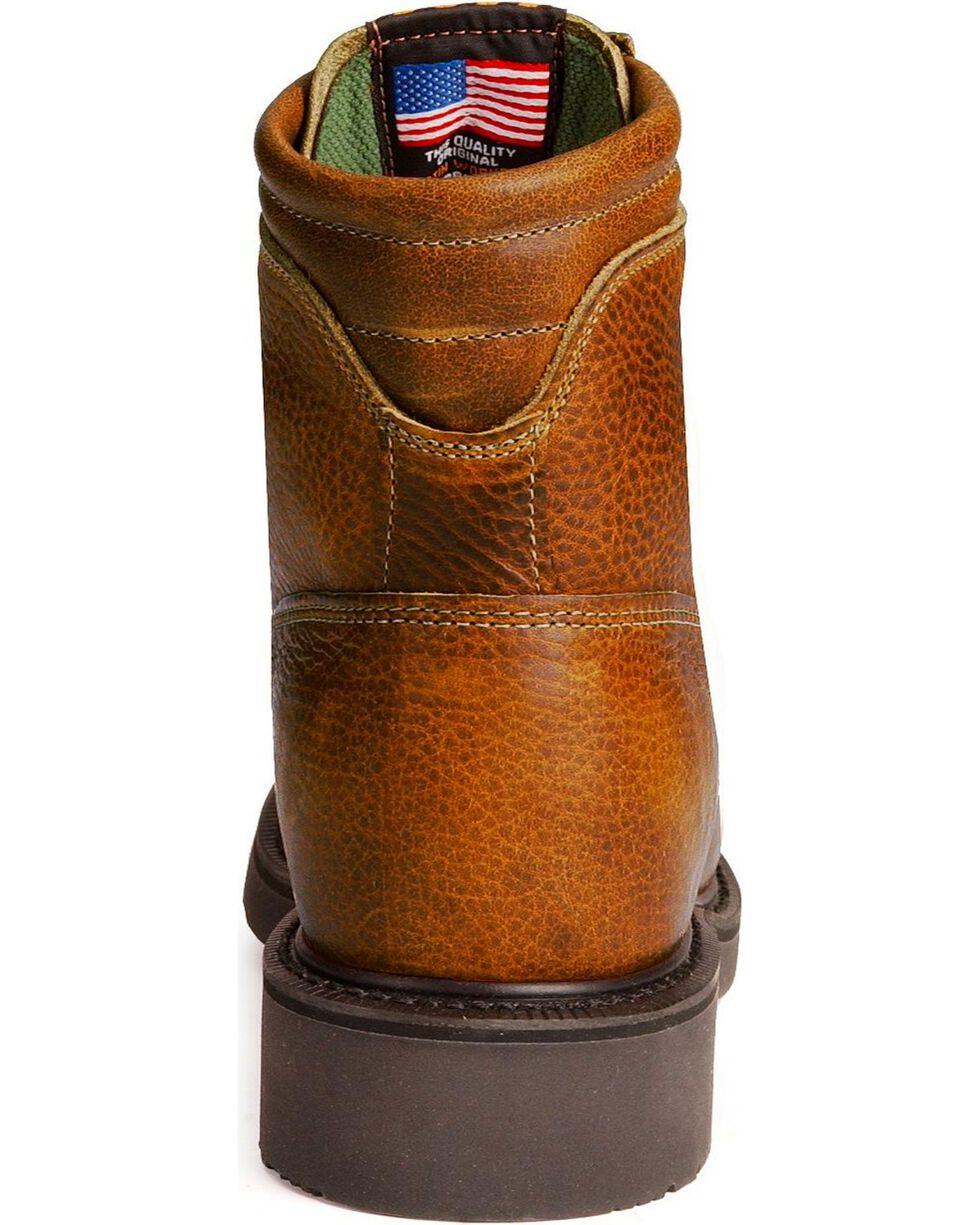 Justin Men's Lace-R Work Boots, Copper, hi-res