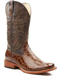 Roper Women's Gator Print Western Boots, , hi-res