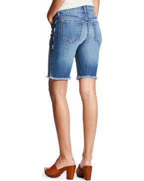 Ariat Women's Multi Side Stitch Bermuda Shorts, Indigo, hi-res
