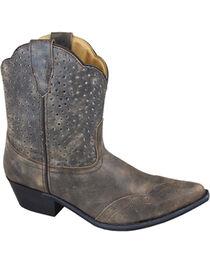 Smoky Mountain Women's Fern Western Boots - Snip Toe , , hi-res