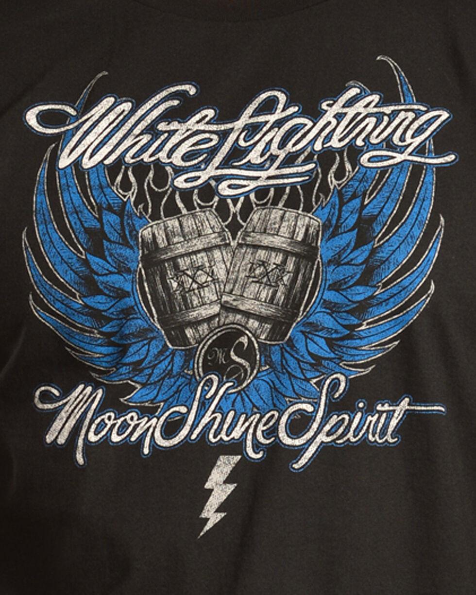 Moonshine Spirit Men's Winged Barrels Tee, Black, hi-res