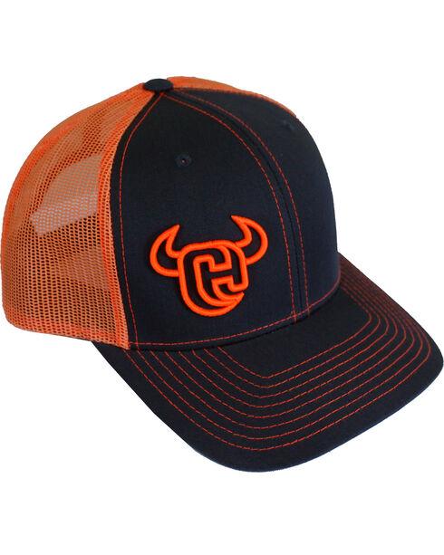Cowboy Hardware Men's Snap Back Ball Cap, Charcoal Grey, hi-res
