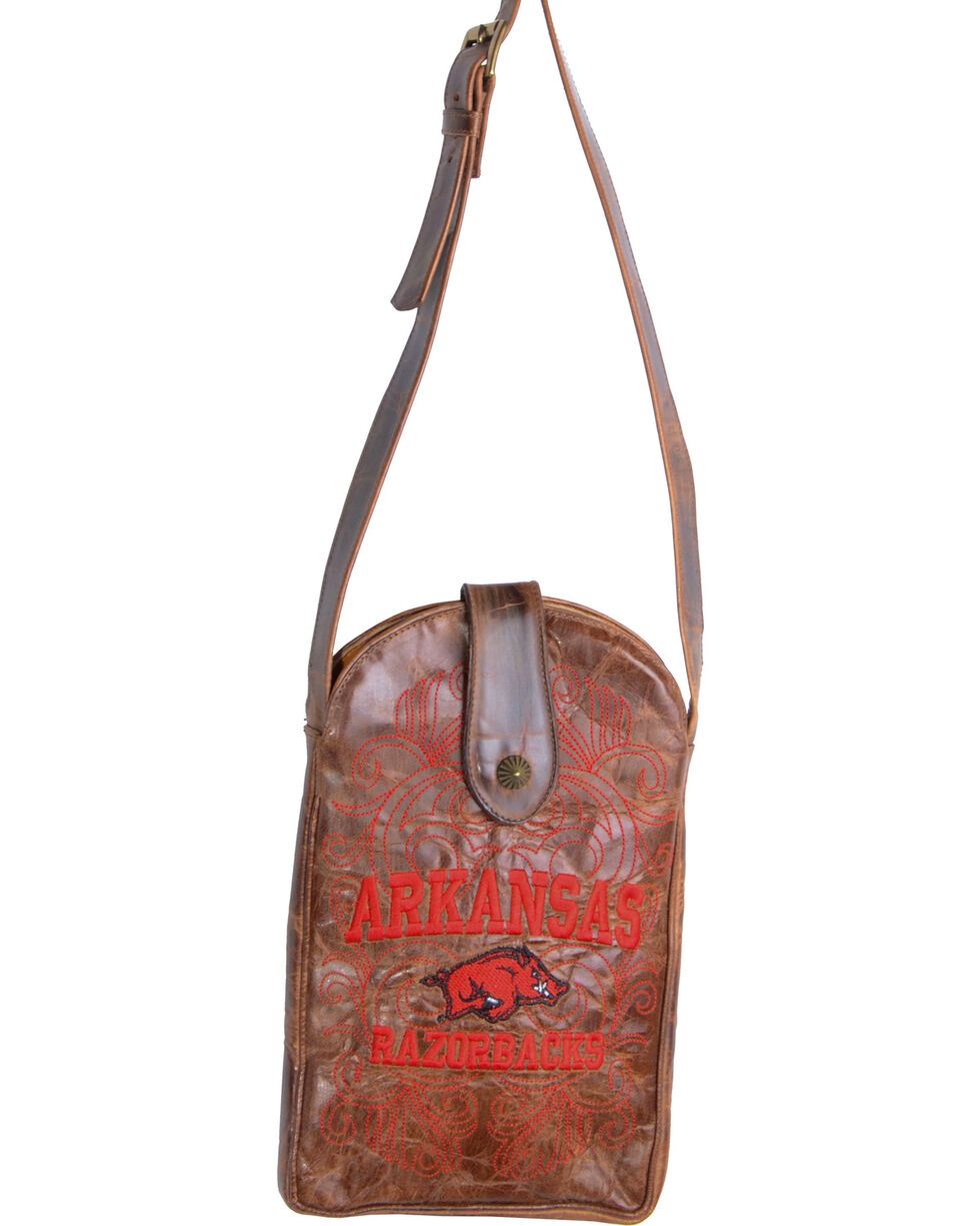 Gameday Boots University of Arkansas Crossbody Bag, , hi-res