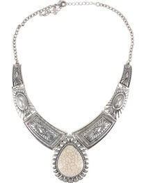 Shyanne® Women's Concho Tiered Necklace, , hi-res