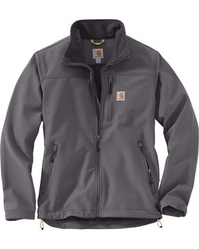 Carhartt Men's Denwood Jacket, Charcoal, hi-res