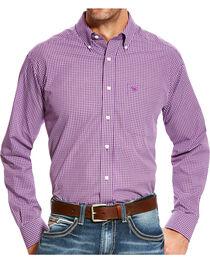 Ariat Men's Zeymore Classic Fit Wrinkle Free Print Long Sleeve Shirt, , hi-res