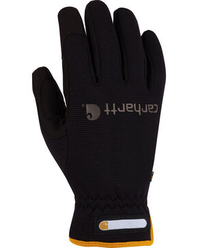 Carhartt Flex Work Gloves, Black, hi-res