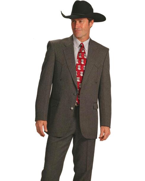 Circle S Men's Heather Vegas Sport Coat, Charcoal, hi-res