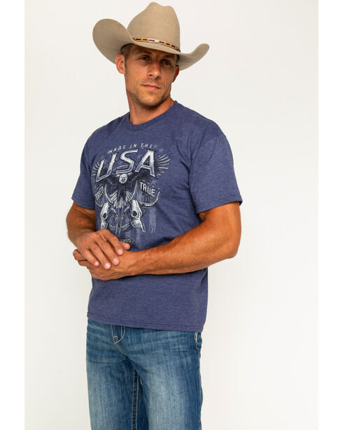 Cody James Men's USA Tried and True T-Shirt, Blue, hi-res
