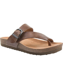 Eastland Women's Shauna Adjustable Thong Sandal , , hi-res
