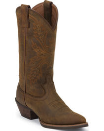 Justin Women's Apache SIlver Collection Western Boots, , hi-res