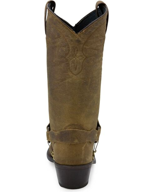 Sage Boots by Abilene Men's Longhorn Wingtip Western Boots, Distressed, hi-res