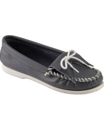 Women's Minnetonka Kilty Whipstitched Moccasins, , hi-res