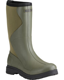 Ariat Women's Olive Springfield Rubber Boots - Round Toe , , hi-res